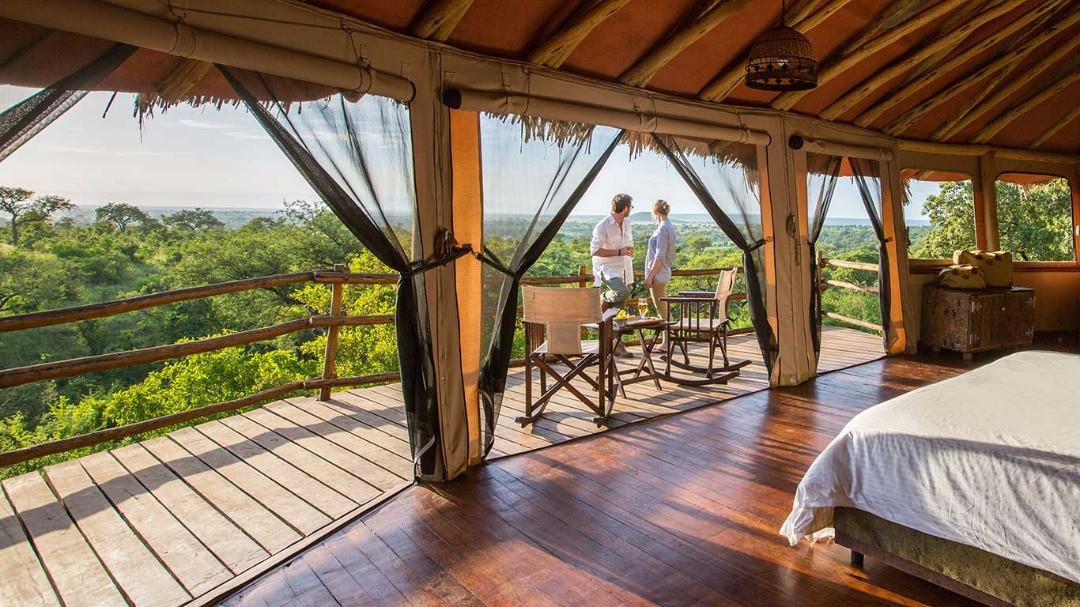 Elewana Treetrops Tarangire Inside Room View