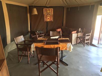 Serengeti Osupuko Camp Dining Area