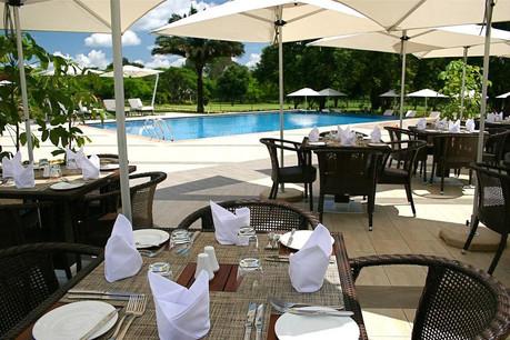 Mount Meru Hotel Pool Side
