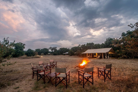 Acacia Migration Camp Fireplace