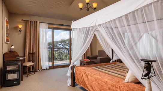 Ngorongoro Lion's Paw Camp Tent Inside