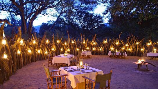 Lake Manyara Tree Lodge Dining Area