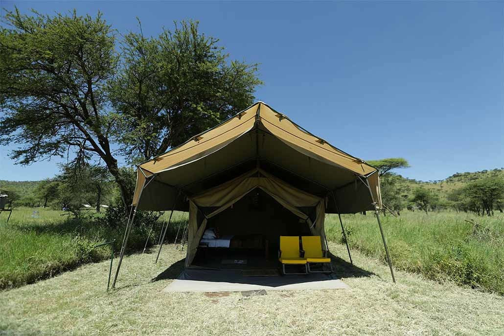 Serengeti Osupuko Camp Outside View