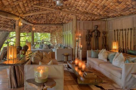Lake Manyara Tree Lodge Lounge