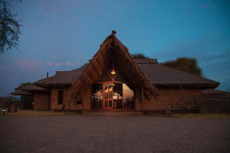 Tarangire Simba Lodge Facade
