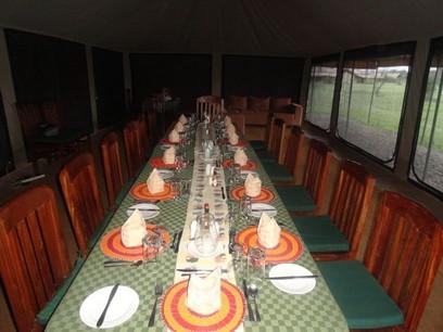 Mbugani Migration Camp Dining