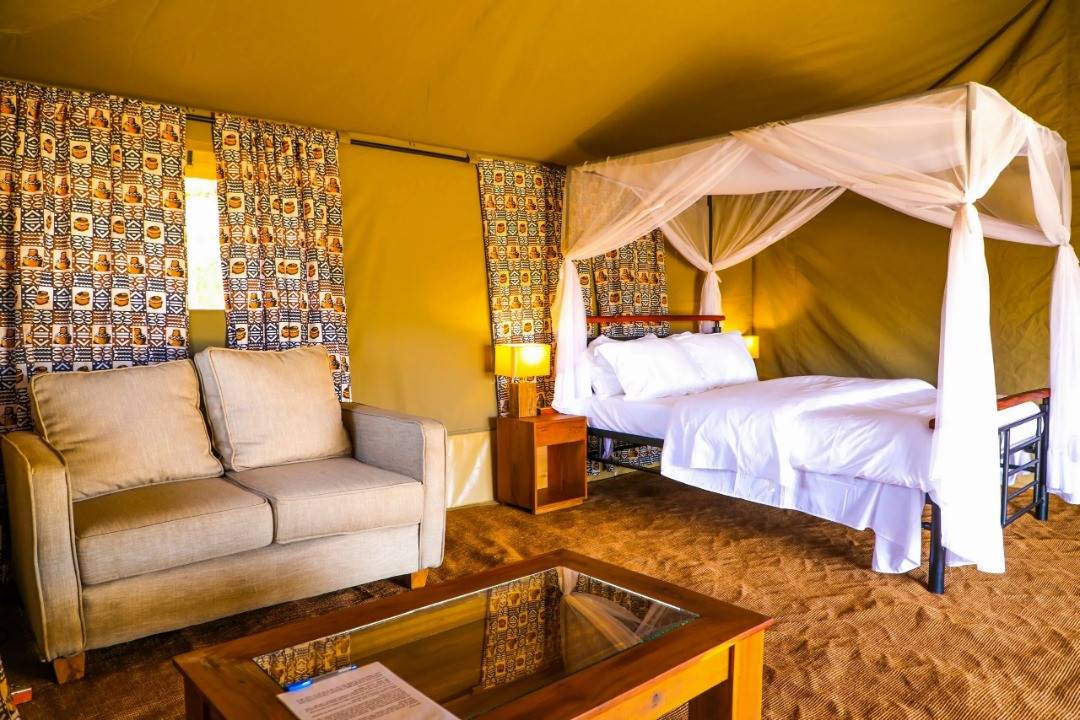 Into Wild Africa Camp Inside View