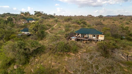 Lemala Kuria Hills Lodge Aerial View