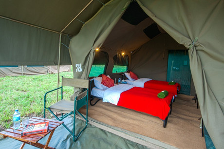 Kananga Special Tented Camp - Inside Tent