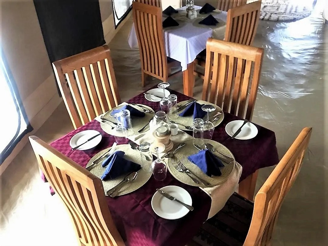 Into Wild Africa Camp Dining