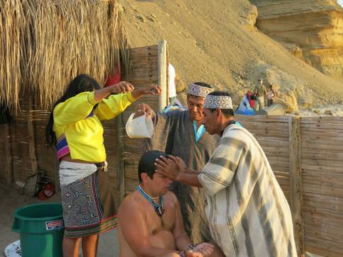 šamani Shipibo při práci
