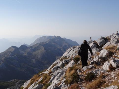 chorvatské pohoří Biokovo