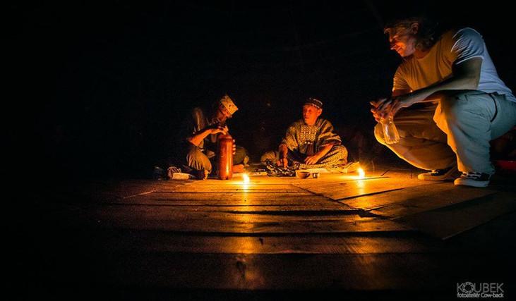 posvátná ceremonie s Ayahuascou