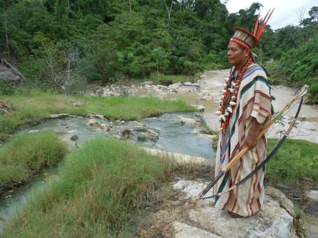 Šaman Juan z kmene Ashashinka