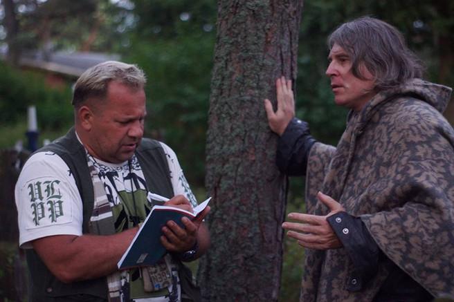 Petr diktuje informace - seminář Litva