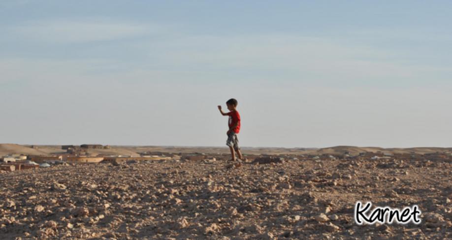 Campos de refugiados Saharauis - pisadas conscientes