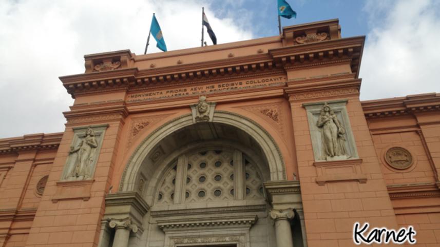 Museo del Cairo - pisadas conscientes