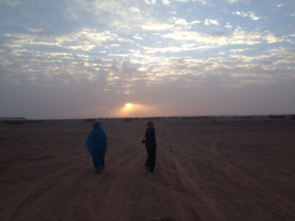 Campos de refugiados Saharauis - pisadas conscientes - voces álmicas - meditaemociones