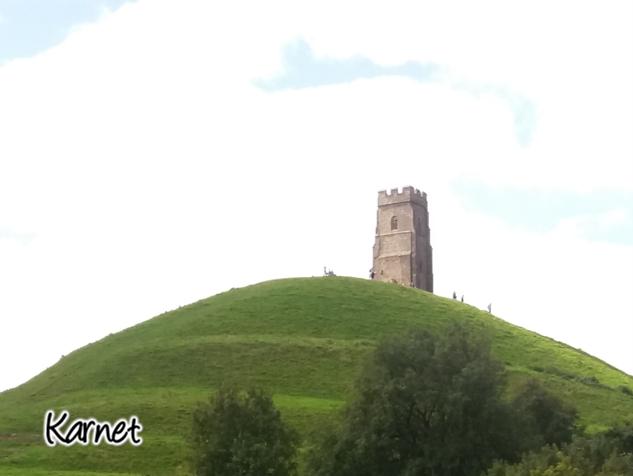 Glastonbury - Reino Unido - Torre de Thor - Pisadas conscientes