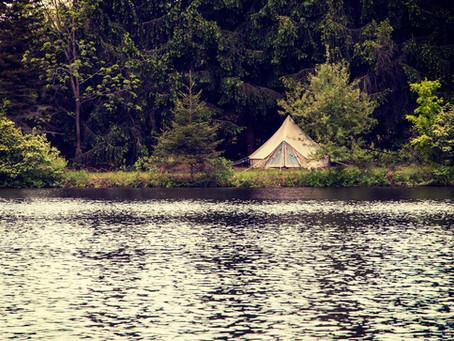 Camping at Underhill