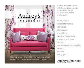 Audrey's Interiors Print Ad