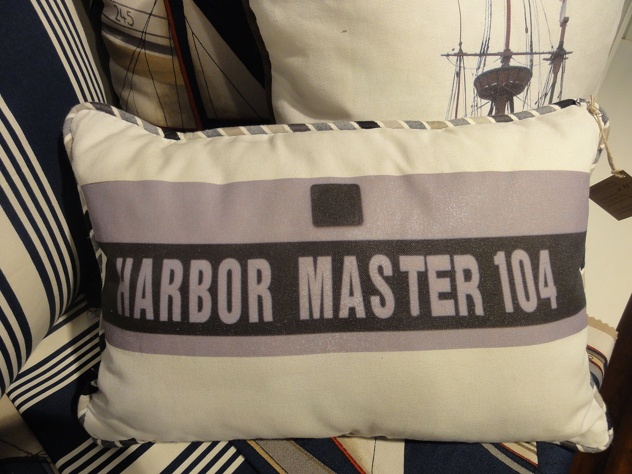 Custom Harbor Master Pillow