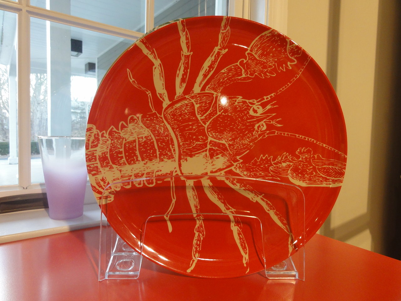 Thomas Paul Melanine Lobster Plate