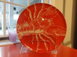 Thomas Paul Melanine Lobster Plate