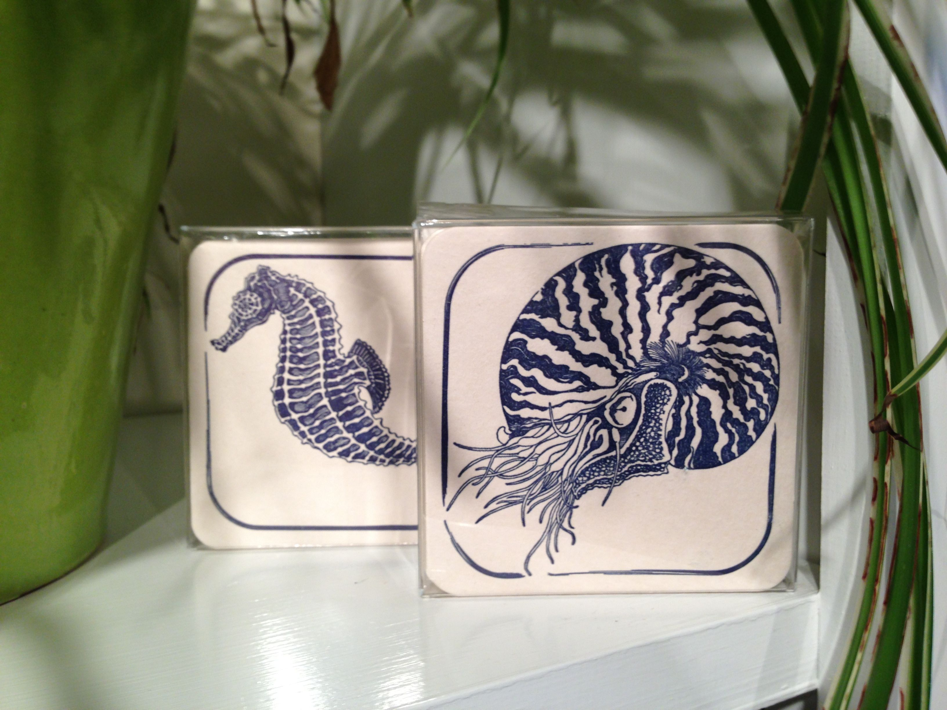 Aquatic Coasters Dandy Lion Press