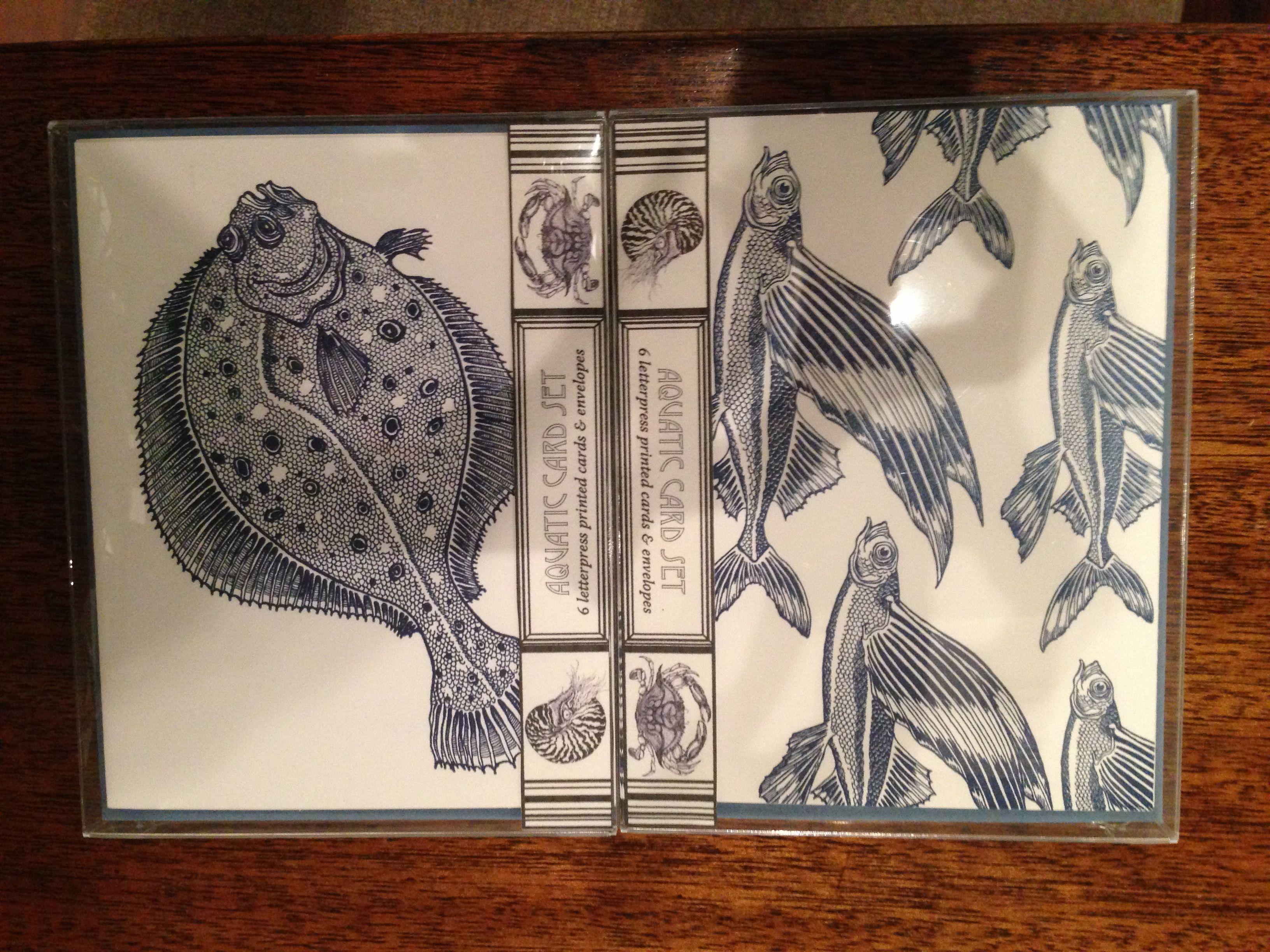 Aquatic Card Set Dandy Lion Press