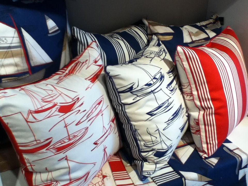 Custom Made Nautical Pillows