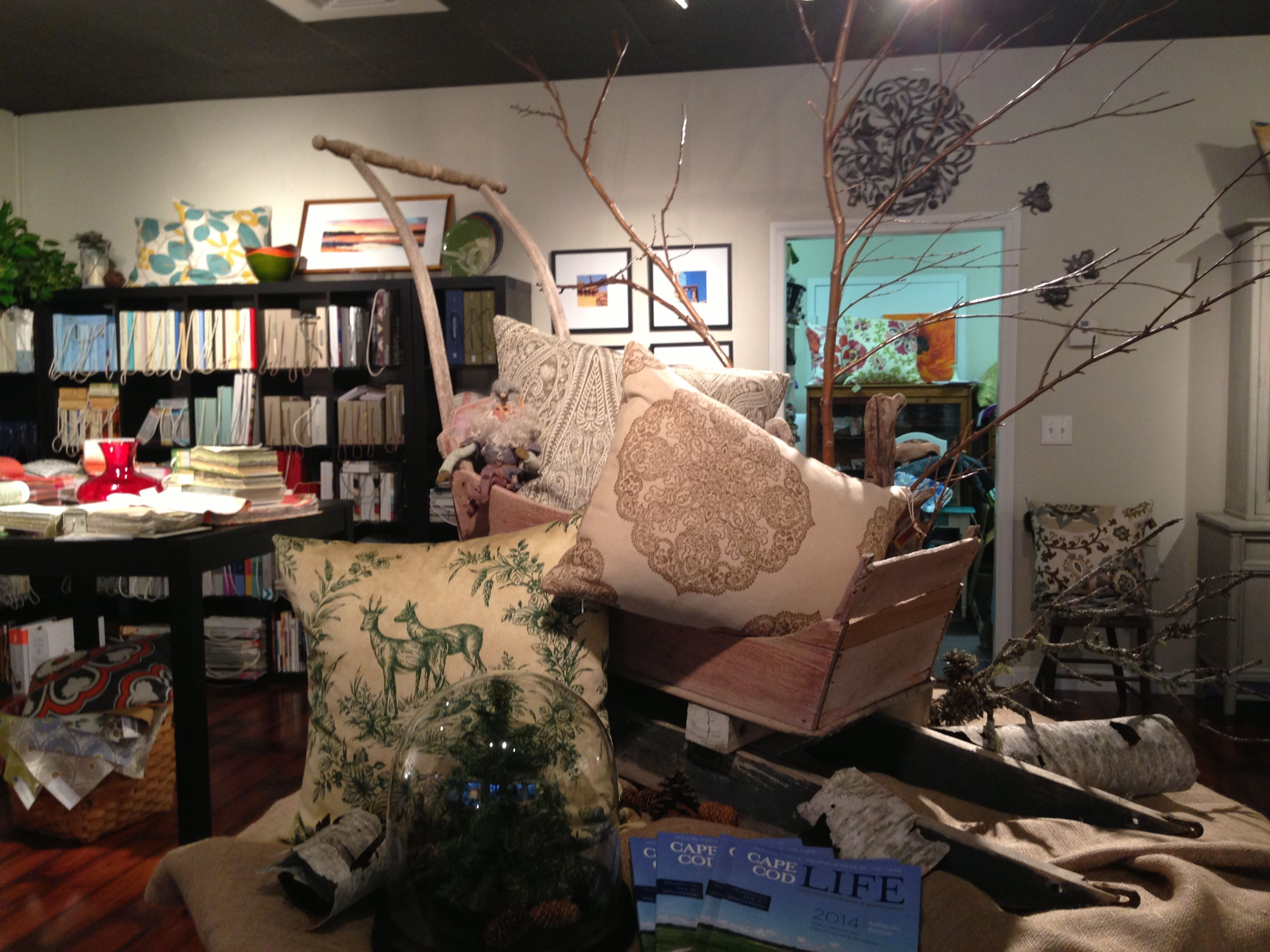 Audrey's Interiors Showroom