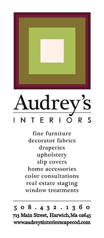 Audrey's Interiors Interior Design Harwich, Cape Cod, Mapress