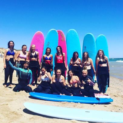 All Girls Surf Camp