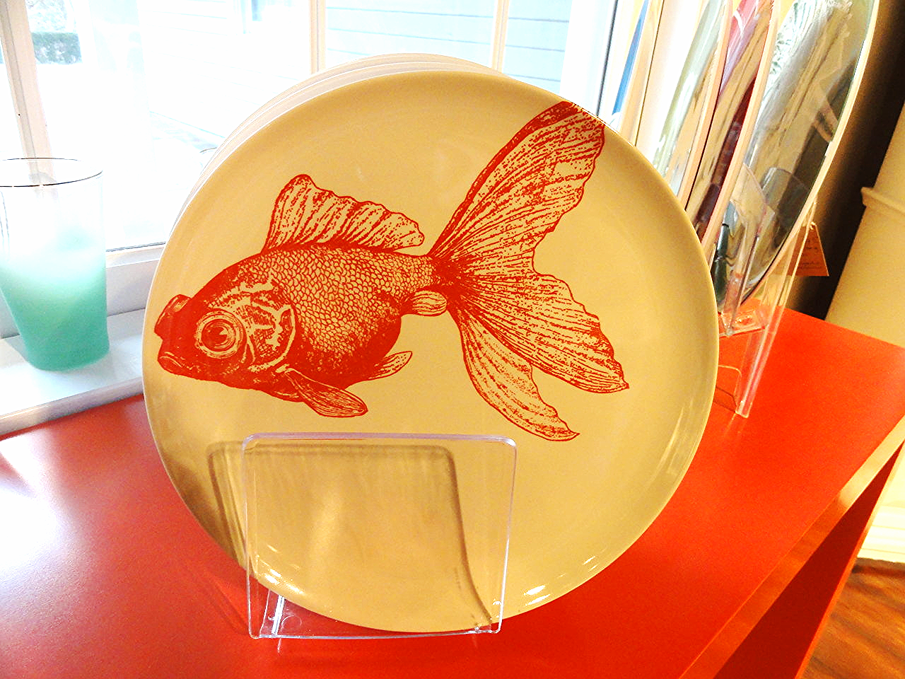Thomas Paul Melanine Fish Dish