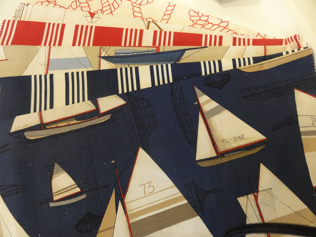 Designer Nautical Fabric