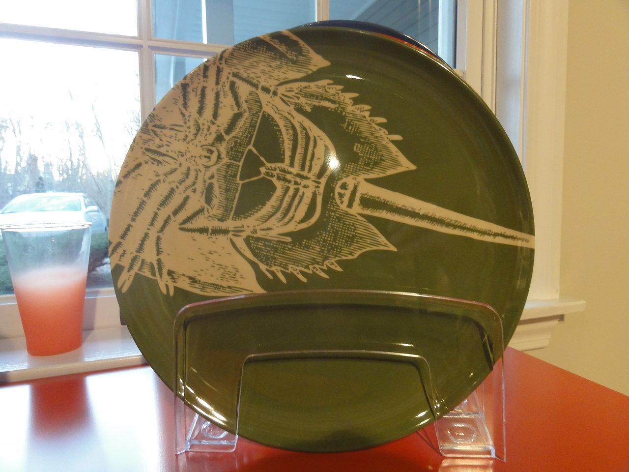 Thomas Paul Melanine Horseshoe Plate