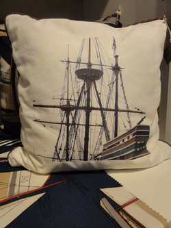 Custom Nautical Pillows