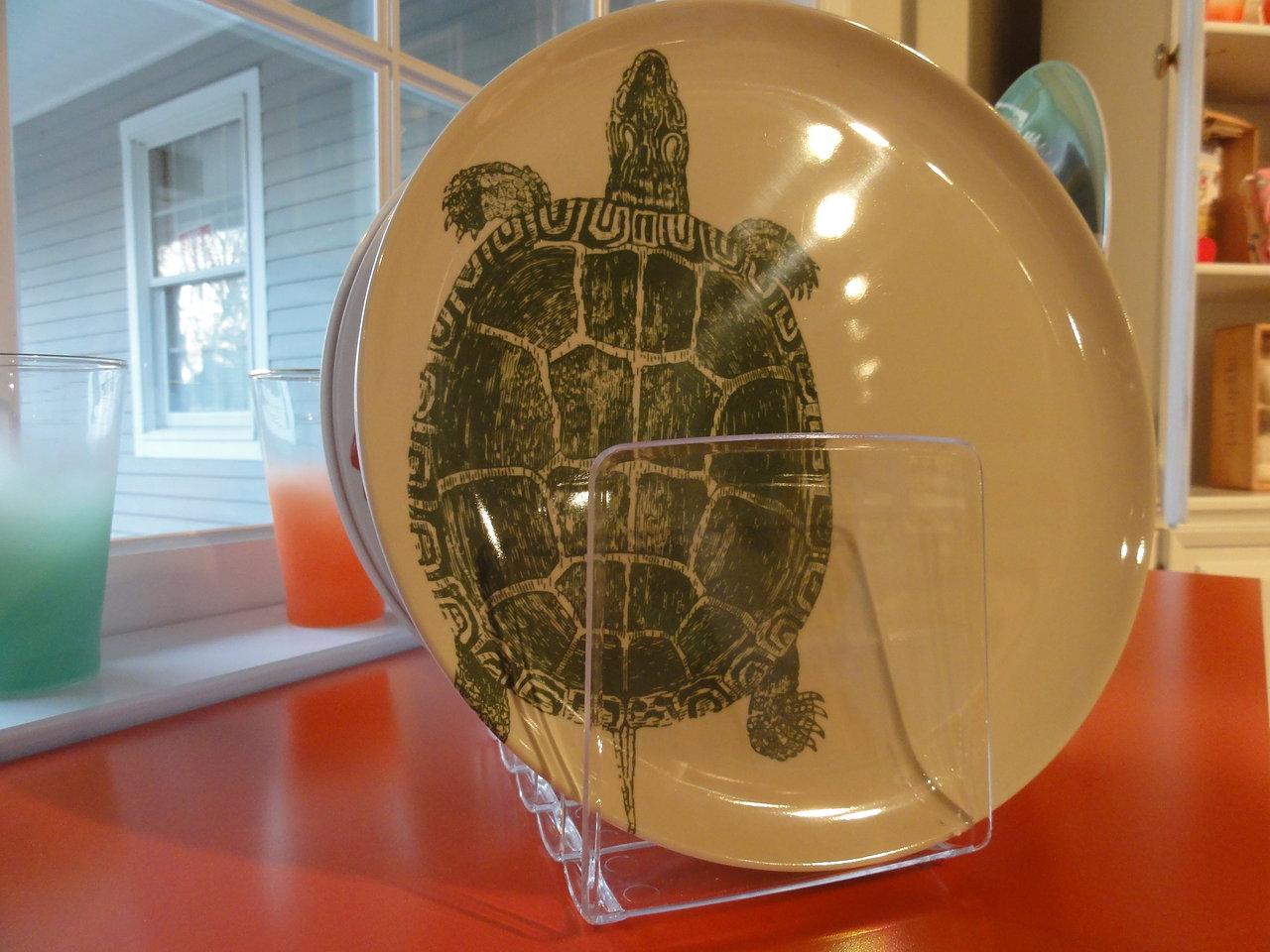 Thomas Paul Melanine Turtle Plate