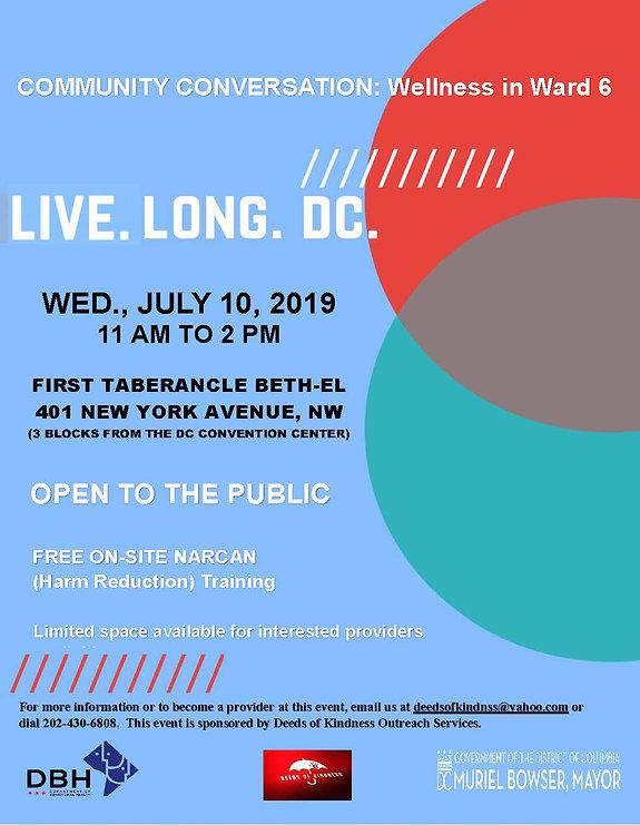 LLDC CC Flyer Template - Ward 6 - July 2