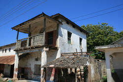 Old colonial houses in Pangani