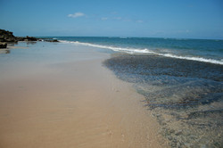 Our deserted beach, just for you !