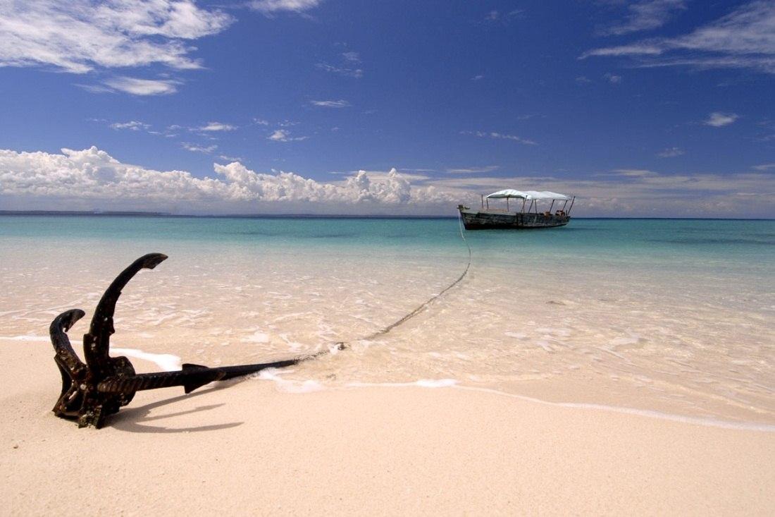 Maziwe island marine reserve