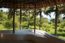 Enjoy the view of our tropical garden