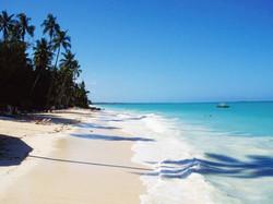 Pristine beaches in the area