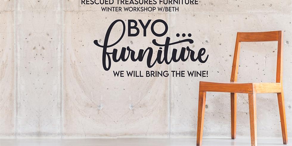 BYO...Furniture!  Chalk Painting Workshop