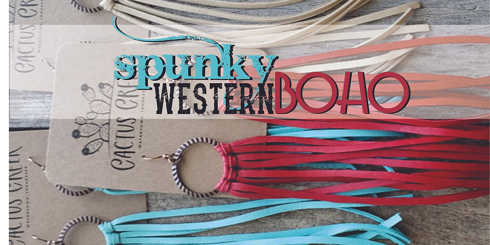 Spunky Western Boho Jewelry Making Workshop