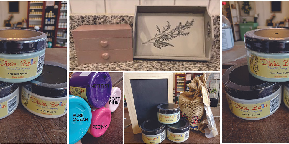 Mother's Day Mom & Me Chalk Paint Workshop