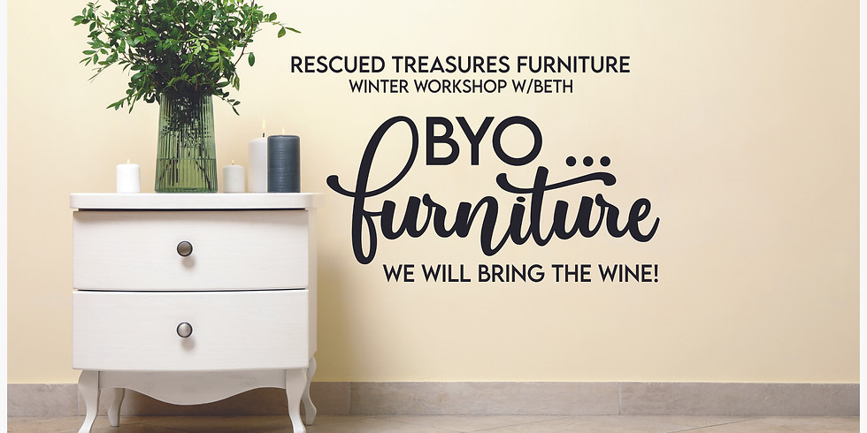 * PRIVATE EVENT* BYO...Furniture!  Chalk Painting Workshop