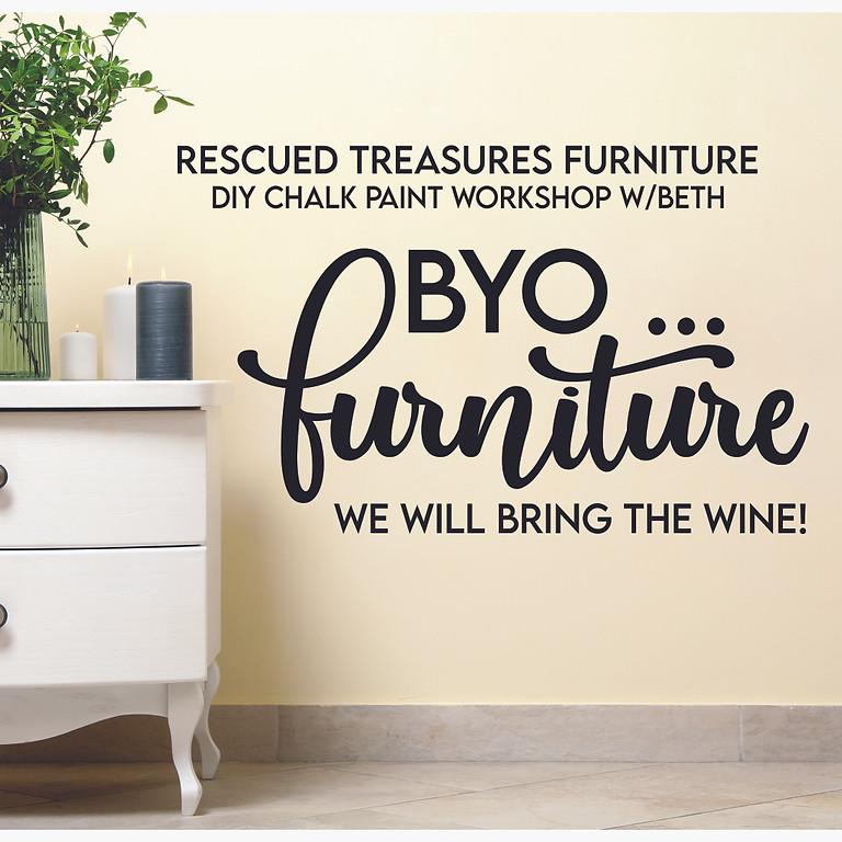 BYO ...  Furniture Chalk Painting Workshop